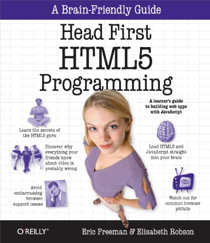 9781449390549: Head First HTML5 Programming: Building Web Apps with JavaScript