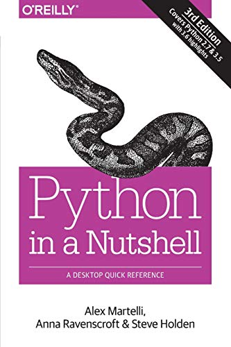 9781449392925: Python in a Nutshell: A Desktop Quick Reference