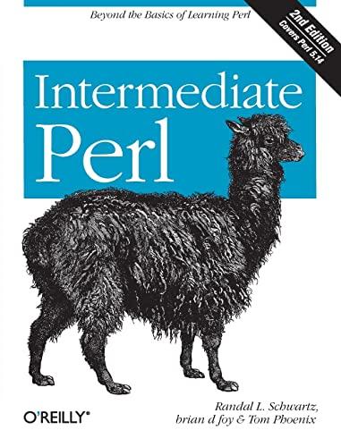 9781449393090: Intermediate Perl