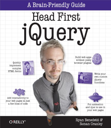 Head First JQuery: Benedetti, Ryan