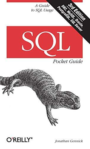 9781449394097: SQL Pocket Guide (Pocket Guides)
