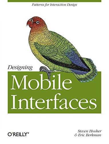 9781449394639: Designing Mobile Interfaces: Patterns for Interaction Design