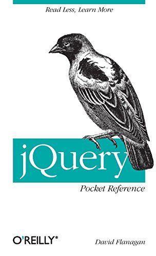 9781449397227: jQuery Pocket Reference
