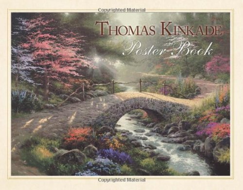 Thomas Kinkade Poster Book (1449401287) by Thomas Kinkade