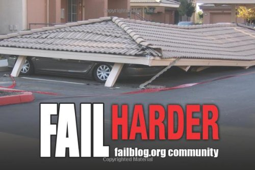 Fail Harder: Ridiculous Illustrations of Epic Fails