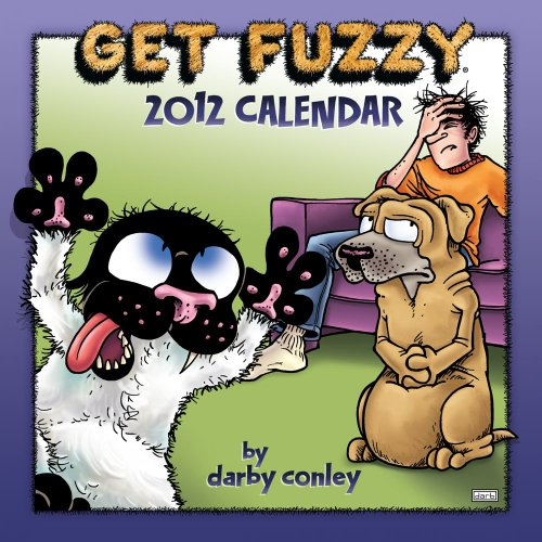 9781449404055: Get Fuzzy 2012 Wall Calendar