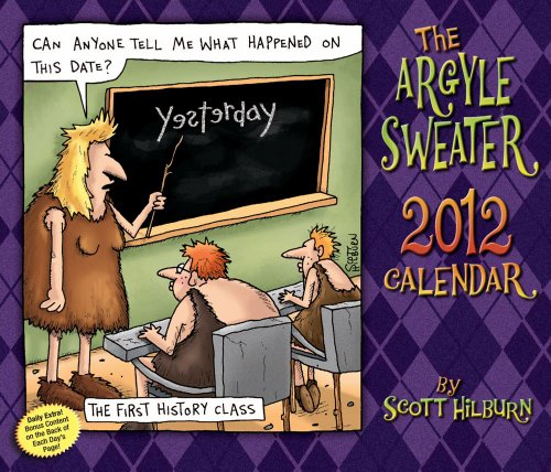 9781449404697: The Argyle Sweater: 2012 Day-to-Day Calendar
