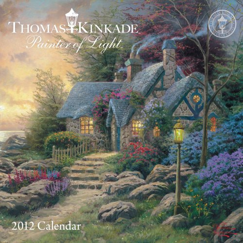 Thomas Kinkade Painter of Light: 2012 Mini Wall Calendar (1449405304) by Thomas Kinkade