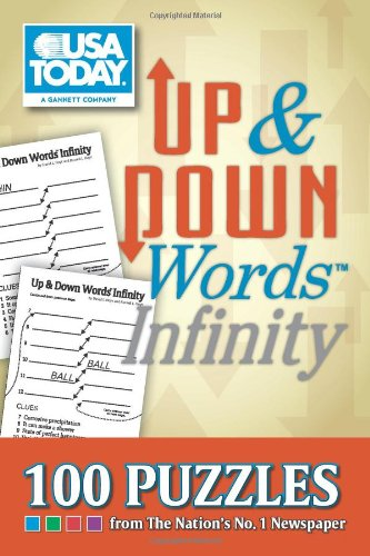 9781449410018: USA TODAY Up & Down Words Infinity: 100 Puzzles from The Nation's No. 1 Newspaper (USA Today Puzzles)