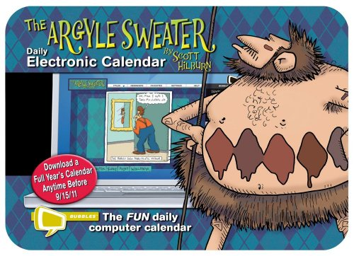 The Argyle Sweater: Bubbles Electronic Calendar: Hilburn, Scott