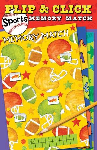 9781449411039: Flip & Click Sports Memory Match