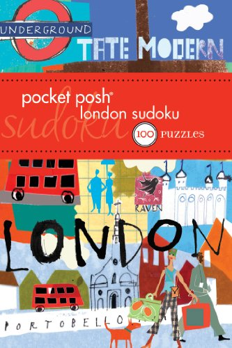 9781449411619: Pocket Posh London Sudoku: 100 Puzzles