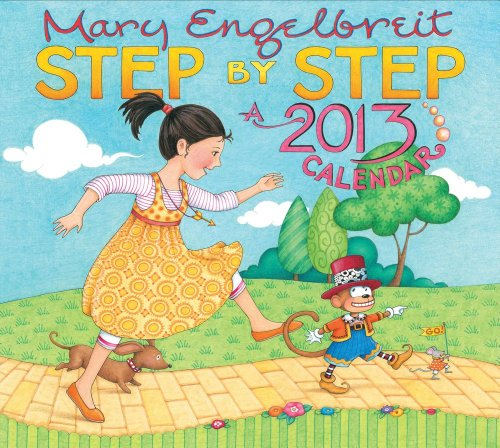 9781449413576: Mary Engelbreit 2013 Deluxe Wall Calendar: Step by Step