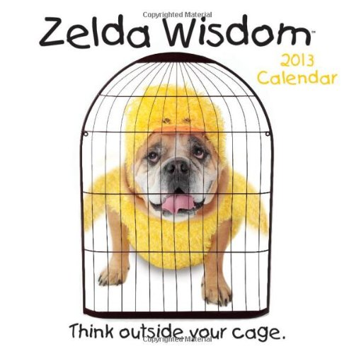 9781449417161: Zelda Wisdom 2013 Wall Calendar