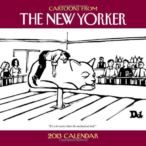 9781449417345: Cartoons from The New Yorker 2013 Wall Calendar