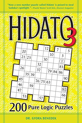 9781449418205: Hidato 3: 200 Pure Logic Puzzles
