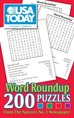 9781449418281: USA Today Word Roundup: 200 Puzzles from The Nation's No. 1 Newspaper (USA Today Puzzles)