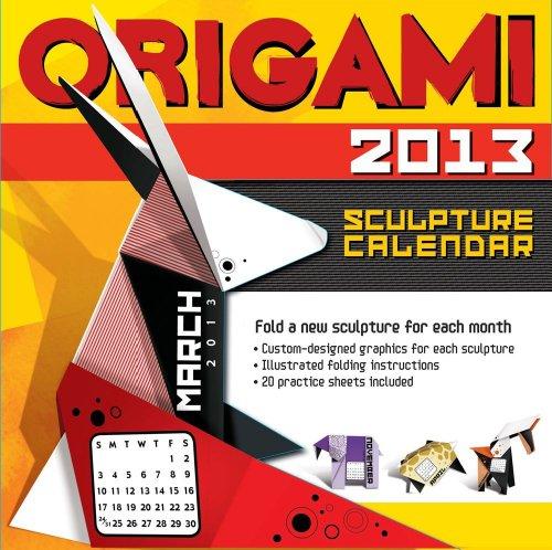 9781449419271: Origami Sculpture 2013 Calendar