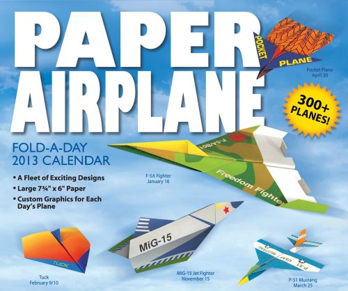 9781449419295: Paper Airplane 2013 Activity Box
