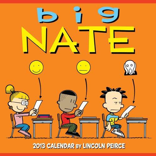 9781449420413: Big Nate 2013 Wall Calendar