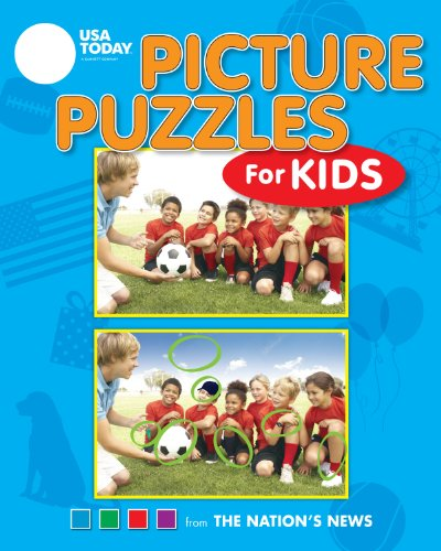 9781449421717: USA TODAY Picture Puzzles for Kids (USA Today Puzzles)