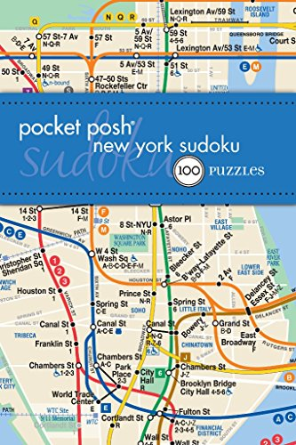 9781449427818: Pocket Posh New York Sudoku: 100 Puzzles