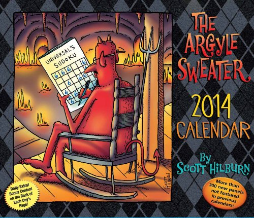 The Argyle Sweater 2014 Day-to-Day Calendar: Hilburn, Scott