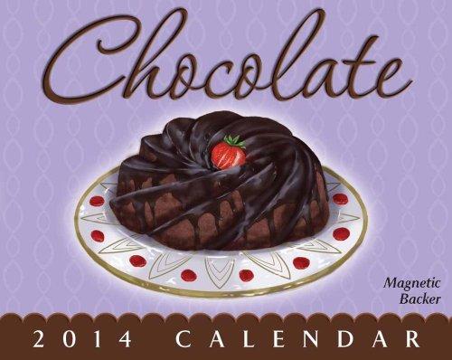 9781449430207: Chocolate 2014 Mini Day-to-Day Calendar