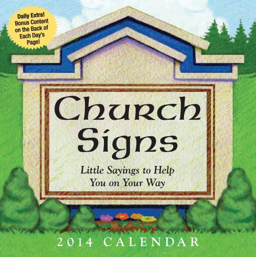 Church Signs 2014 Day-to-Day Calendar: Andrews McMeel Publishing, LLC