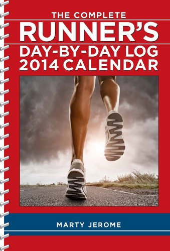 9781449430238: Complete Runner's Day-By-Day Log 2014 Desk Diary