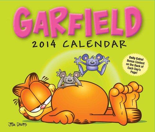 9781449430429: Garfield 2014 Box Calendar