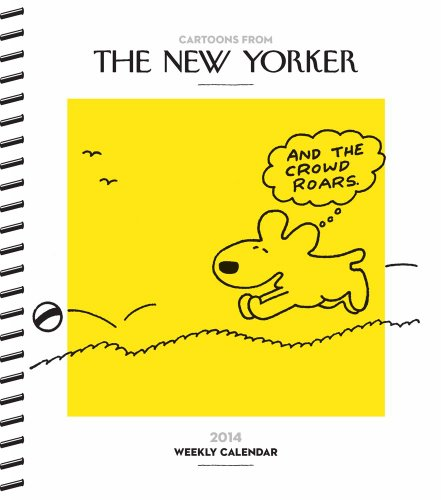 9781449430689: Cartoons from The New Yorker 2014 Weekly Planner Calendar