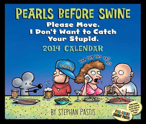 Pearls Before Swine 2014 Day-to-Day Calendar (1449431054) by Pastis, Stephan
