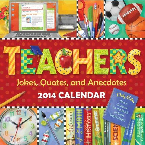 9781449431143: Teachers 2014 Box Calendar