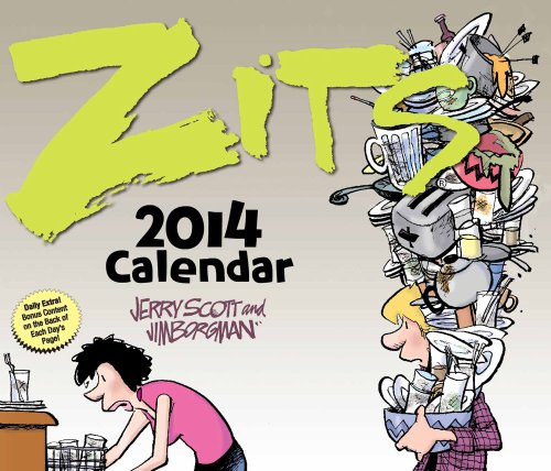 Zits 2014 Day-to-Day Calendar (1449431232) by Scott, Jerry; Borgman, Jim