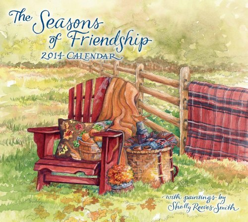 9781449432348: The Seasons of Friendship 2014 Deluxe Wall Calendar