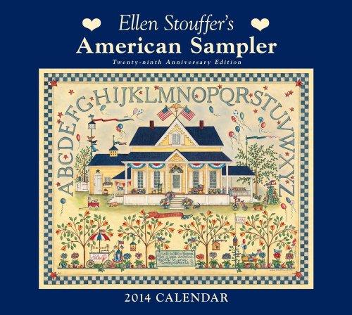 9781449432362: Ellen Stouffer's American Sampler Calendar