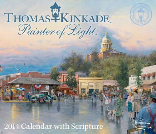 Thomas Kinkade Painter of Light with Scripture 2014 Day-to-Day Calendar (144943245X) by Thomas Kinkade