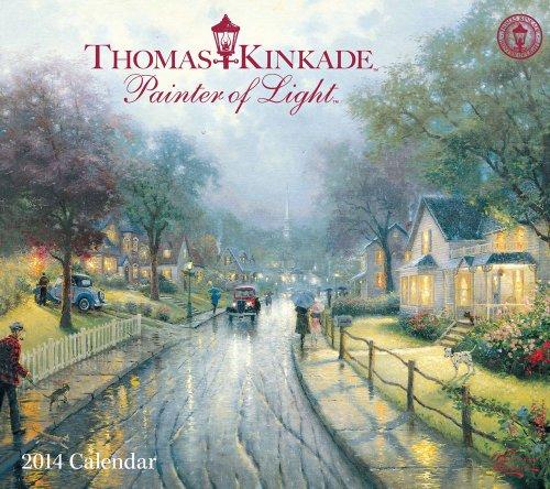 9781449432478: Thomas Kinkade Painter of Light 2014 Deluxe Wall Calendar