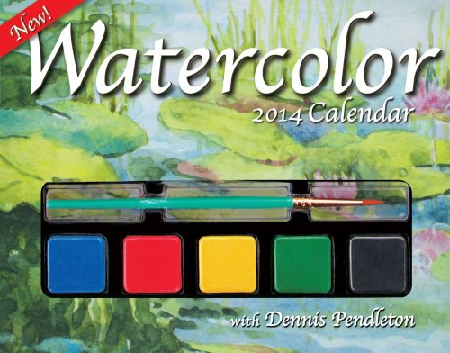9781449433291: Watercolor 2014 Day-to-Day Calendar