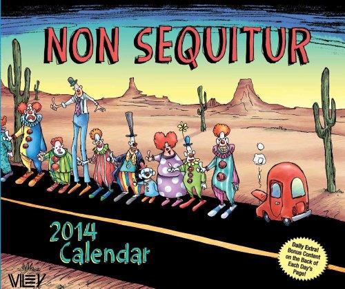 9781449435226: Non Sequitur 2014 Day-to-Day Calendar