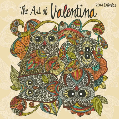 9781449435387: The Art of Valentina 2014 Wall Calendar