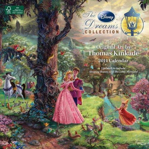 Thomas Kinkade: The Disney Dreams Collection 2014 Wall Calendar (1449435556) by Kinkade, Thomas