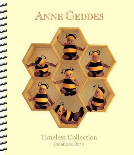 9781449436452: Anne Geddes Timeless 2014 Desk Diary