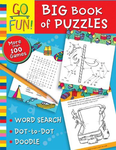 Go Fun! Big Book of Puzzles: Accord Publishing