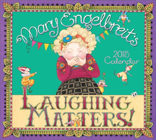 9781449447144: Mary Engelbreit 2015 Deluxe Wall Calendar: Laughing Matters!