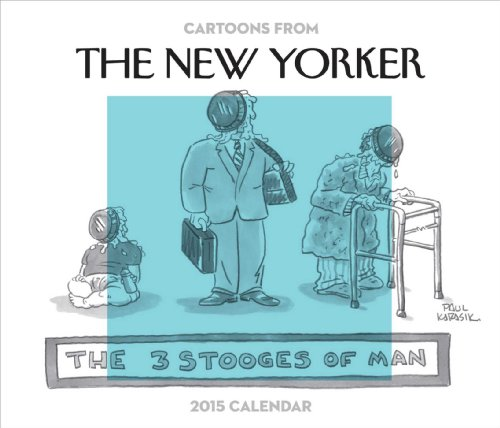 9781449451240: Cartoons from The New Yorker 2015 Day-to-Day Calendar