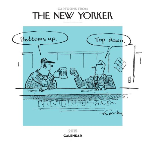 9781449451257: Cartoons from The New Yorker 2015 Wall Calendar