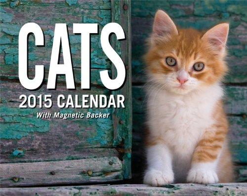 9781449451295: Cats Mini Calendar [With Magnet Backer]