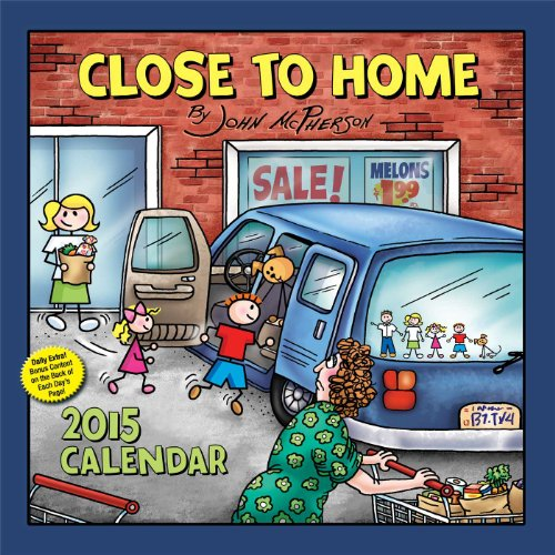 Close to Home 2015 Day-to-Day Calendar: McPherson, John